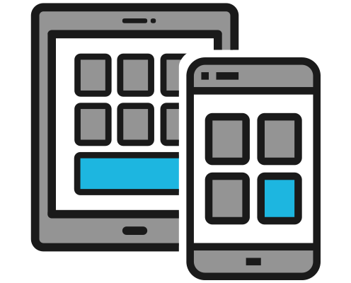 Mobile POS Device Icon